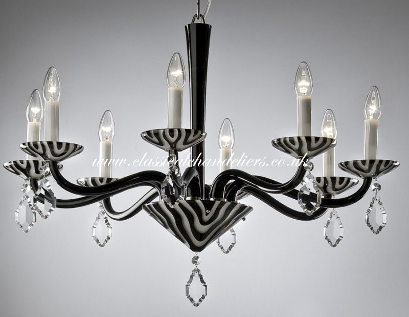 Black And White Chandelier As 54298 00 008 55900
