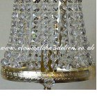 Crystal Sconce DTSE76470-1-S