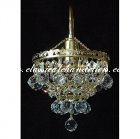 Hanging Crystal Ball Lamp DWN76000-1-R