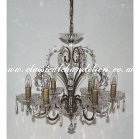 6 Patina Arm DC54170-6-PTD Chandelier