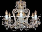 6 Arm BC43050 06/16SK-669SW Chandelier
