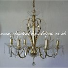6 Gold Arm DC54180-6-H Chandelier