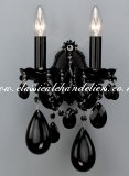 Black Wall Light WM 54366/00/002