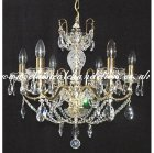 6 Gold Arm DC54340 6-S Chandelier