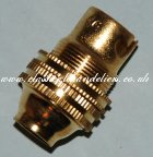 Brass Lamp Holder SBC 0.5inch