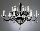 Black and White Chandelier AS 54298/00/012