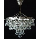 Crystal Ball DC76000-3-RNK Chandelier