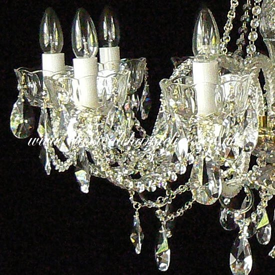 10 Arm DC10140-10-xx Chandelier - Click Image to Close