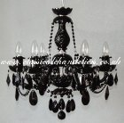 Black Chandelier DC09748-6-NK