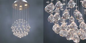 Chandeliers for Modern Houses Rain Drop