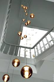 Stairwell chandeliers 1