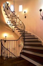 Stairwell chandeliers 4