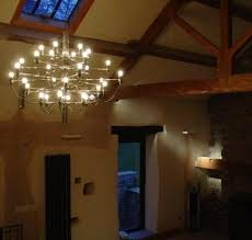 Chandeliers in Barn Conversions 1