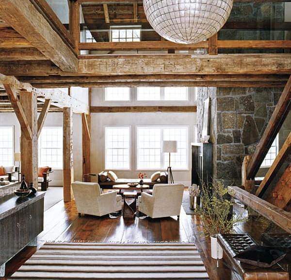 Chandeliers in Barn Conversions 4